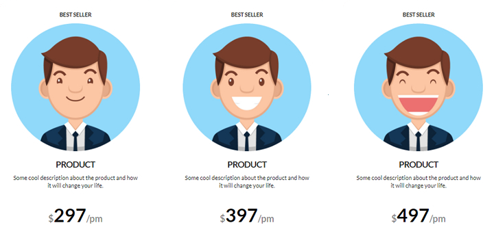 X Theme Templates   Grab your FREE Pricing table   WP Templates