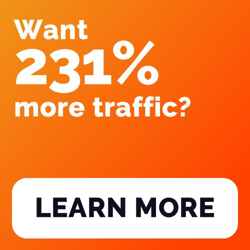 want more traffic?